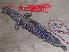 "VINTAGE ANTIQUE STYLE ""MONASTERY"" BOOT KNIFE DAGGER W/ SHEATH CASE SWORD !!!"