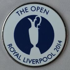 2014 OFFICIAL (Royal Liverpool) British Open - FLAT - BALL MARKER