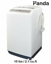 Panda Small Compact Portable Washing Machine Fully Automatic 15.4lbs PAN70SW/lar