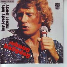 CD 2 titres JOHNNY HALLYDAY n°107 HEY ,LOVELY,LADY *** MISTER LONELY