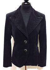 MARELLA Giacca Donna Velluto Woman Velvet Jacket Blazer Sz.S - 42