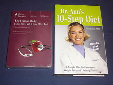 Teaching Co Great Courses DVDs        HUMAN BODY HOW WE FAIL HEAL    new + BONUS