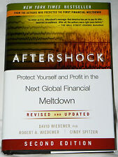 Aftershock : Next Global Financial Meltdown -Wiedemer, Spitzer (2011 HC 2nd ed)