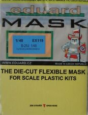 Eduard 1/48 EX119 Canopy Mask for the Revell/Monogram B-25J Mitchell