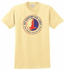 Eastern Air Lines T-shirt. Vintage logo. 5 Colors. Size: Small - 3-XL Free Ship