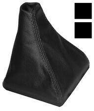 Soufflet de levier vitesse noir 100% CUIR VERITABLE pour SEAT IBIZA 6J 09-14