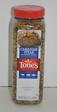 Tone's Canadian Steak Seasoning NO MSG Net Wt. 28 oz (1.75lb) 794g New