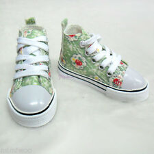 Elf Rainy Ryung Soah Super Dollfie SD13 Boy 1/3 Shoes Flower Sneaker GREEN