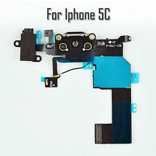 iPhone 5C Charger Port Charging Dock Flex USB Replacement - Black Apple 100% new