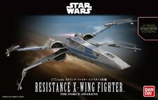 Bandai 1/72 Model Kit Star Wars Resistance X-Wing Fighter The Force Awakens