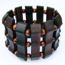 Sono Kokosnuss Holz Armband Handarbeit Design B038