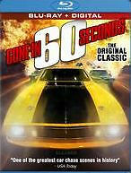GONE IN 60 SECONDS - BLU RAY - Region A - Sealed