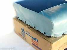 BEECHCRAFT OEM Factory Aircraft Twin Bonanza E-50 Complete Rear Seat Cushion NEW