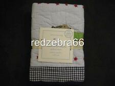 Pottery Barn Kids Roadsteler Small Decorative Quilted Sham Race Car Organic