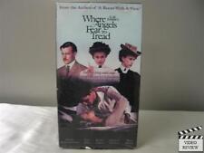 Where Angels Fear to Tread VHS Helena Bonham-Carter, Judy Davis, Rupert Graves
