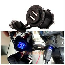 12V Car Cigarette Lighter Socket Splitter Dual USB Charger Power Adapter Outlet