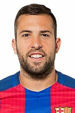 NEW! Football Photo JORDI ALBA FC Barcelona 2016-17 Season