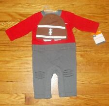 NEW Infant Baby Boys Football Outfit w/ Cap 0-3 months Halloween Costume NWT