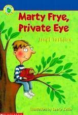Marty Frye, Private Eye (Little Apple Paperback) Tashjian, Janet Paperback
