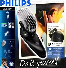 Philips DIY 180° Rotating Head + 20 Length Setting Rechargeable Clipper QC5530