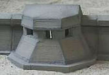 MGM 070-07 1/72 Resin WWII Anti-tank Sea Wall with Integral Bunker
