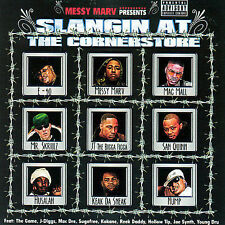 MESSY MARV-Slangin At The Corner Store CD NEW