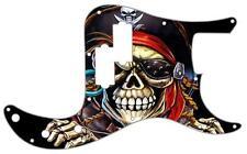 P Bass Precision Pickguard Custom Fender 13 Hole Guitar Pick Guard Pirate 1 BK