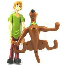 "Free Ship Xmas Cute Gift 5""Scooby Doo Shaggy & Dog Figures Kids Toy L614"