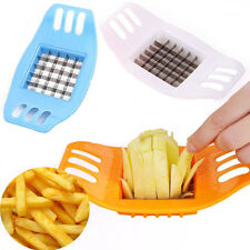 French Fry Potato Chip Cutter Fruit Slicer Chopper Chipper Blade Kitchen Tool