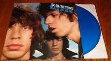 THE ROLLING STONES BLACK AND BLUE IMPORT BLUE COLORED VINYL LP MADE IN HOLLAND