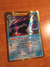SECRET RARE Pokemon EMPOLEON Card B&W PLASMA FREEZE Set 117/116 Black and White