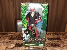 "Alice Cooper Rare Authentic Hand SIGNED Limited 18"" Action Figure Toy Art Asylum"