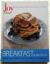Joy Of Cooking Breakfast Brunch Cookbook Food Coffee Hard Cover