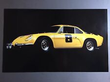 1963 Renault Alpine A110 Berlinette Coupe Print, Picture, Poster RARE!! Awesome