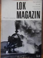 LOK Magazin 4 - Aug. 1963 * DB BR 18 Bayrische P 3/5 Schwarzwaldbahn Werrabahn