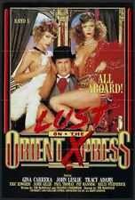 Lust On Orient Express Poster 01 Metal Sign A4 12x8 Aluminium