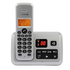 OLYMPIA Certo Answer silber Wireless Telephone With Answering Machine