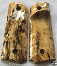 1911 TARGET GRIPS 4 FULL SIZE & Springfield LEFT HND SPALTED MANGO F-69 NICE!!!