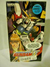 VHS (Mobile Suit Gundam Wing) 1999 unedited Version Factory Sealed