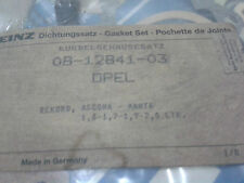 OPEL RECORD-MANTA 1.6, 1.7, 1.9, 2.0 OIL PAN GASKET SET - GERMANY