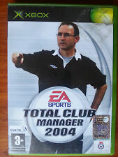 TOTAL CLUB MANAGER 2004 - ea - XBOX  PAL gioco game console ITA calcio football