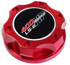 VMS RACING BILLET ALUMINUM RED ANODIZED OIL CAP LS2 ENGINE LS-2 400HP EMBLEM