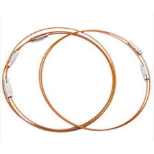 30x Hot Sale Fashion Jewelry Copper Steel Memory Cord Wire Bracelet Bangle J