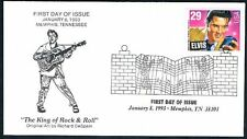 1993 Elvis Presley First Day Cover FDC King of Rock & Roll Memphis Collectibles