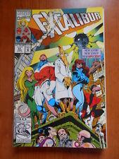 EXCALIBUR #51 Marvel Comics  [SA42]