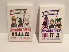Turn Off the TV and Play Original Drama Deck and Castle Wonders Playing Cards FS
