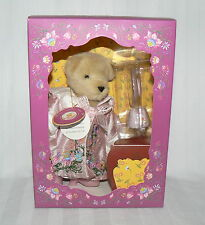 """Muffy VanderBear 7"""" Salon du The Couture Tea cup Limited Edition 2001"""