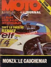 MOTO JOURNAL  120 MOTOBECANE 350 HONDA CB 750 Four Tour de France Moto MONZA 73