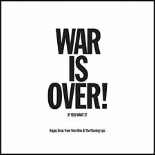 "Flaming Lips & Yoko Ono Happy Xmas War Is Over 7"" Vinyl Record non lp Christmas+"