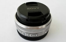 SONY SEL16F2.8 E MOUNT 16mm f/2.8 AF Lens in EXCELLENT+++CONDITION